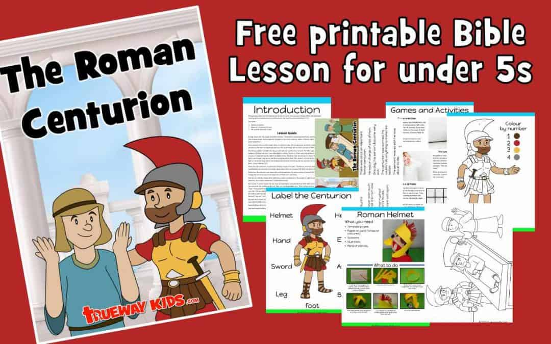 the roman centurion's servant healed - FREE bible lesson for kids