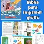 Jonás - Lecciones de la Biblia para imprimir gratis, Cada clase incluye: resumen de la lección, historia, juegos y actividades, hojas de trabajo,páginas para colorear, manualidades y más.