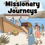 Paul's missionary journey - Preschool Bible lesson
