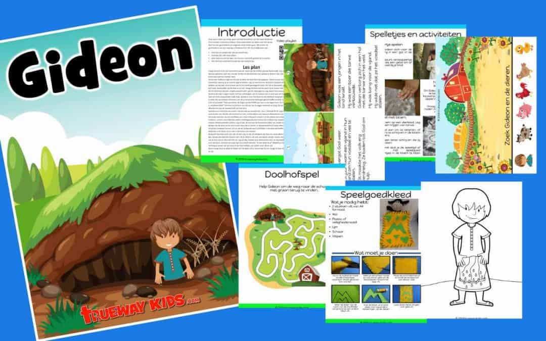 Gideon – bijbelles voor kinderen