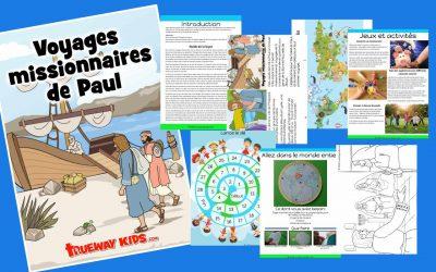 Voyages missionnaires de Paul