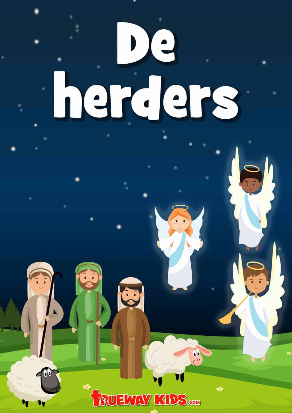 Free printbale preschool Bible lesson on the Christmas Shepherds. Learn about the candy cane and explore the Bible passage with worksheets, games, Bible activities, coloring sheets and more