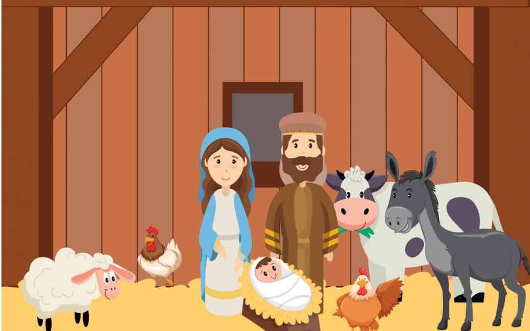 Sentier du premier Noël 8 – l'étable