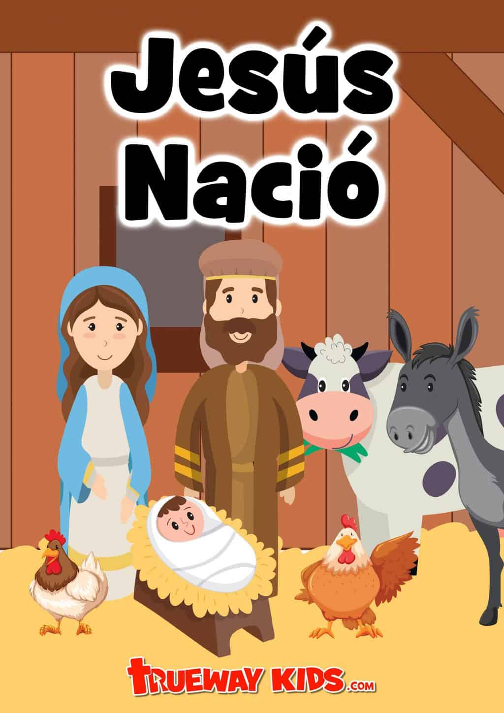 Jesus is born. Free printable Bible lesson for preschool children. Learn about the trip to Bethlehem and no place to stay. Luke 2. Includes worksheets, coloring pages, Bible games and activities and Christmas worship ideas, easy kids crafts and more.
