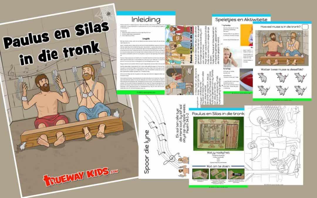 Paulus en Silas in die tronk