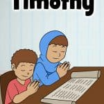 As Paul's ministry spread, he trained others to share the Gospel. One of these messengers was a young man named Timothy. Paul wrote him two letters, I and II Timothy. Timothy also helped with letters Paul sent to others. Bible lesson with worksheets, coloring pages, crafts, story, games and activities and more