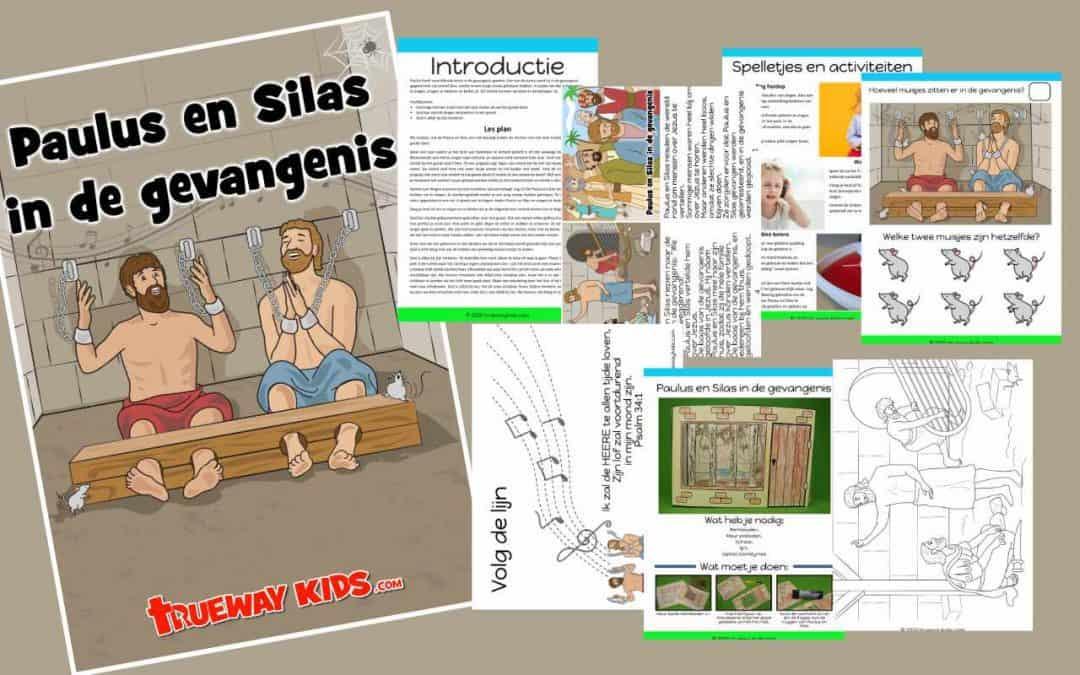 Paulus en Silas in de gevangenis