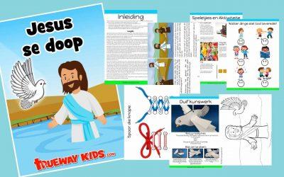 Jesus se doop