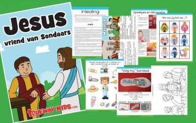 Jesus vriend van Sondaars