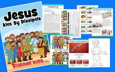 Jesus kies Sy Dissipels