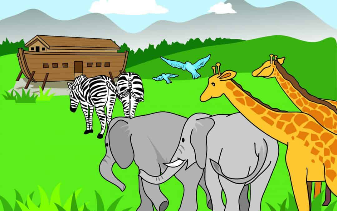 Noahs Ark - Free printable at home Bible lesson for under 5s