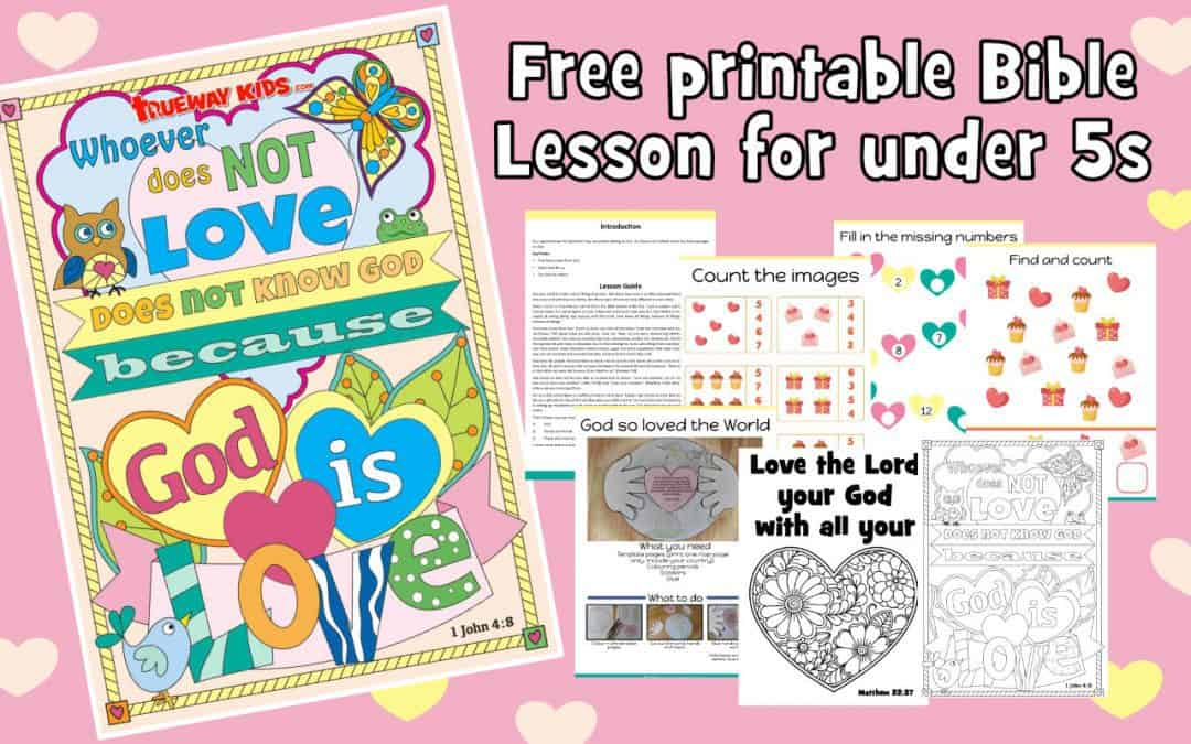 Love Bible lesson for Kids. Learn about God's love and how we are called to love others