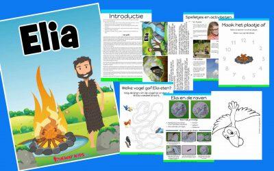 Elia – gratis bijbelles voor kinderen
