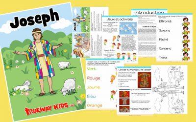 Joseph – Leçon biblique imprimable gratuite