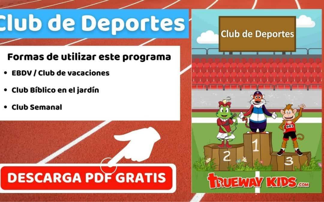 Club de Deportes - EBDV / Club de vacaciones - DESCARGA GRATIS