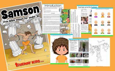 Samson – Free Bible lesson for kids
