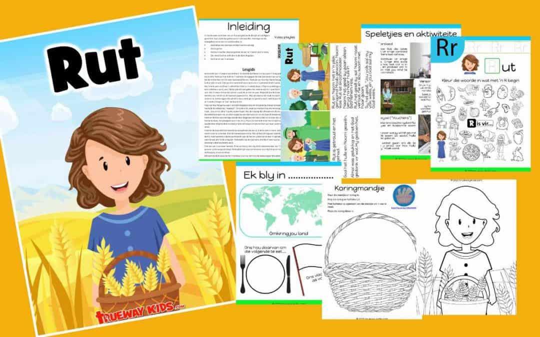 In hierdie week se les leer ons van Rut wat gedurende die tyd van die Rigters geleef het. Haar storie kan gelees word in die boek Rut.