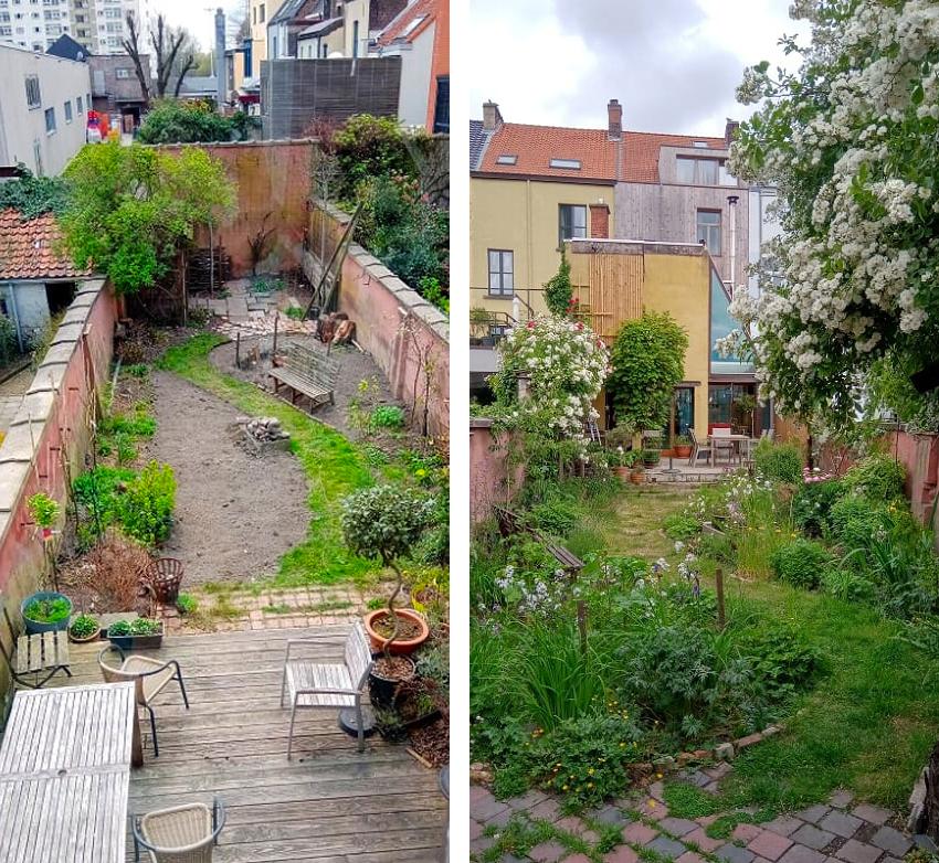 natuurlijke stadstuin Gent