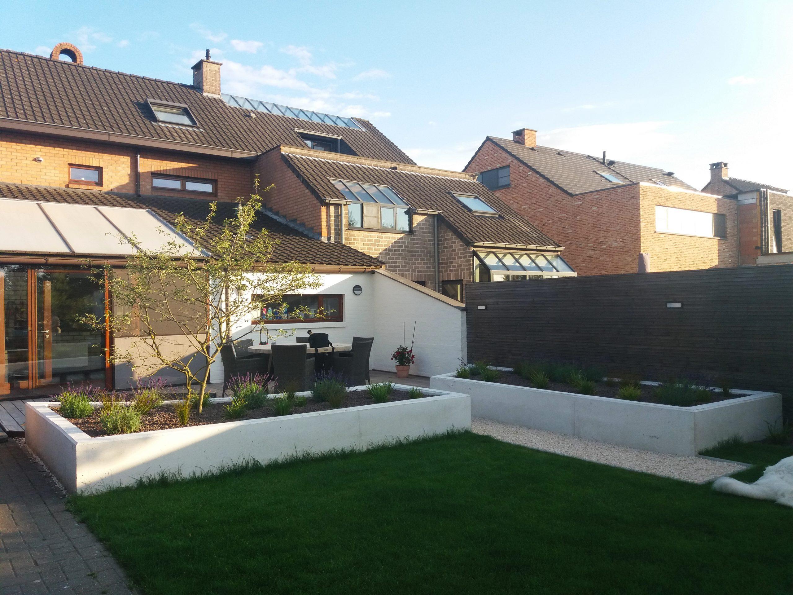 strakke, moderne tuin
