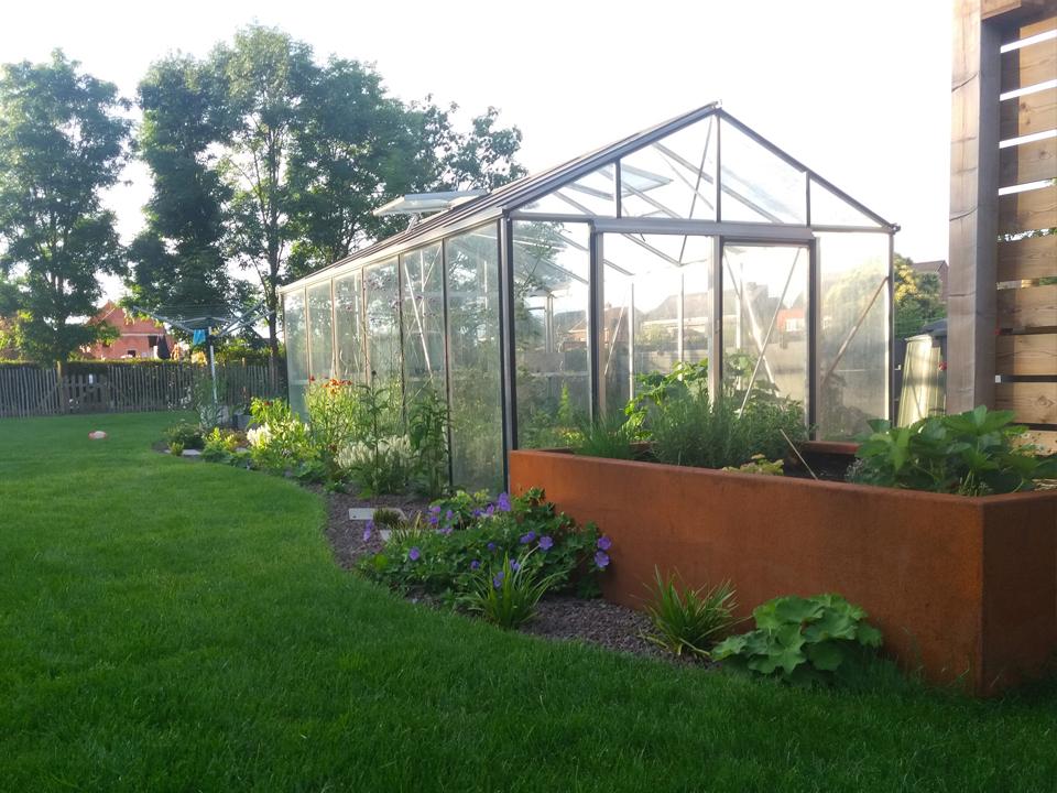 moderne tuin Kessel