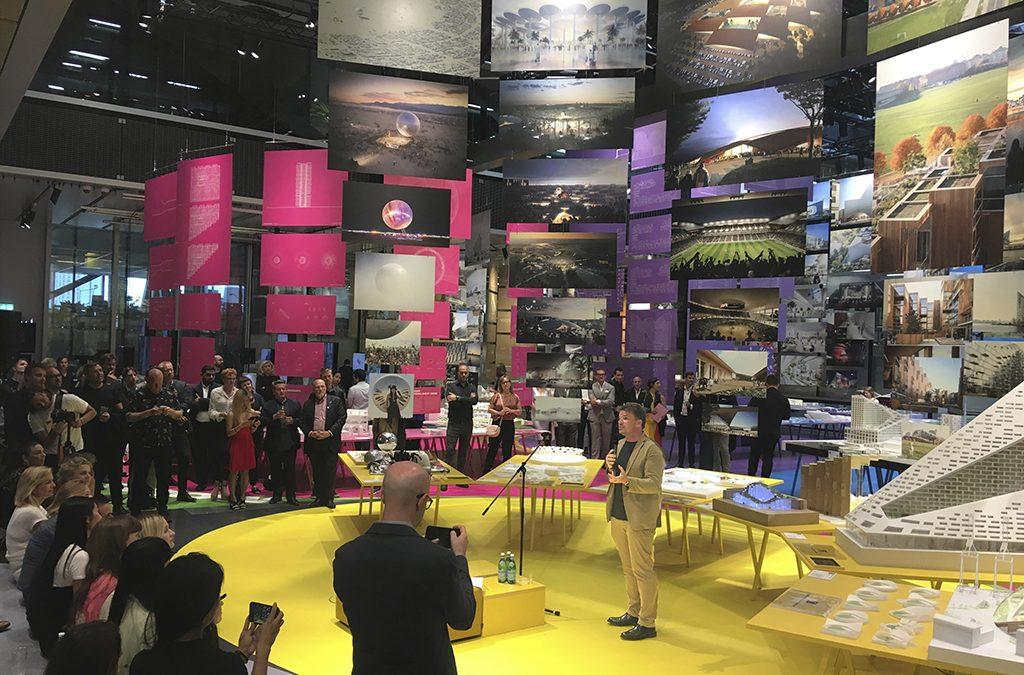 BIG præsenterer Formgiving i Dansk Arkitektur Center