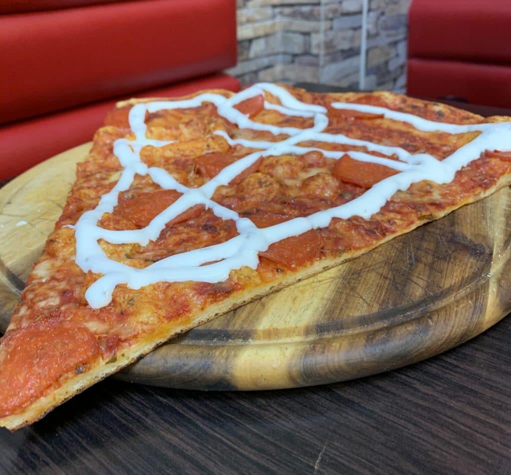 Madkassens pizzaslice