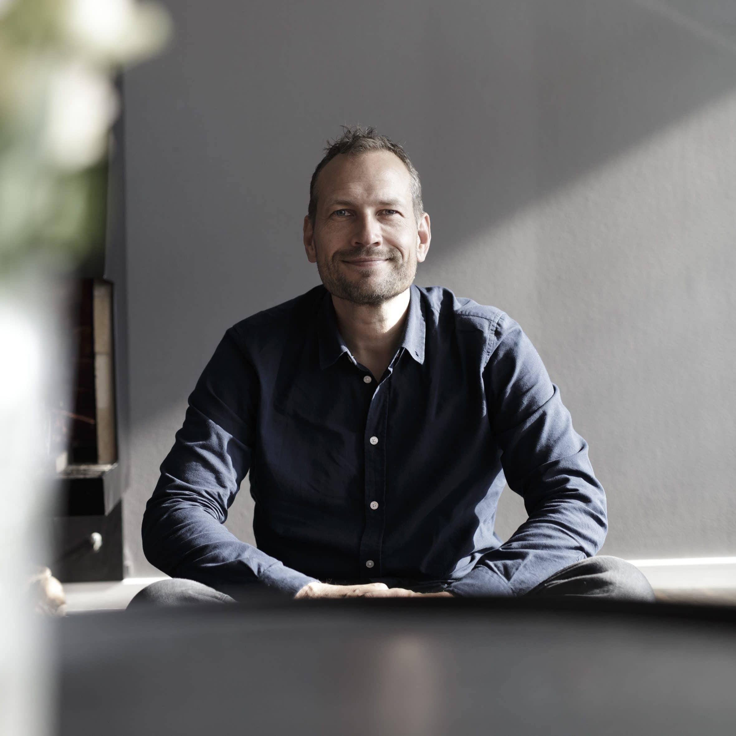 Martin Thorborg smilende