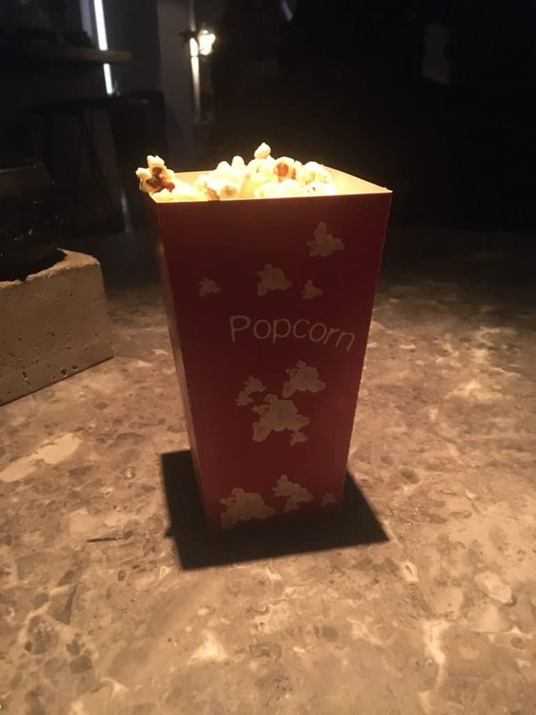 Pop pop popcorn