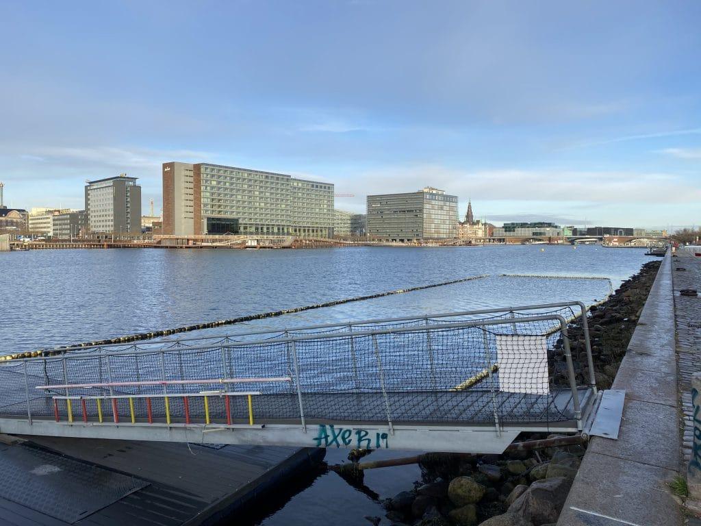 Islands Brygge, Vinter København