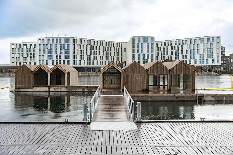 Nordhavn badehus, København