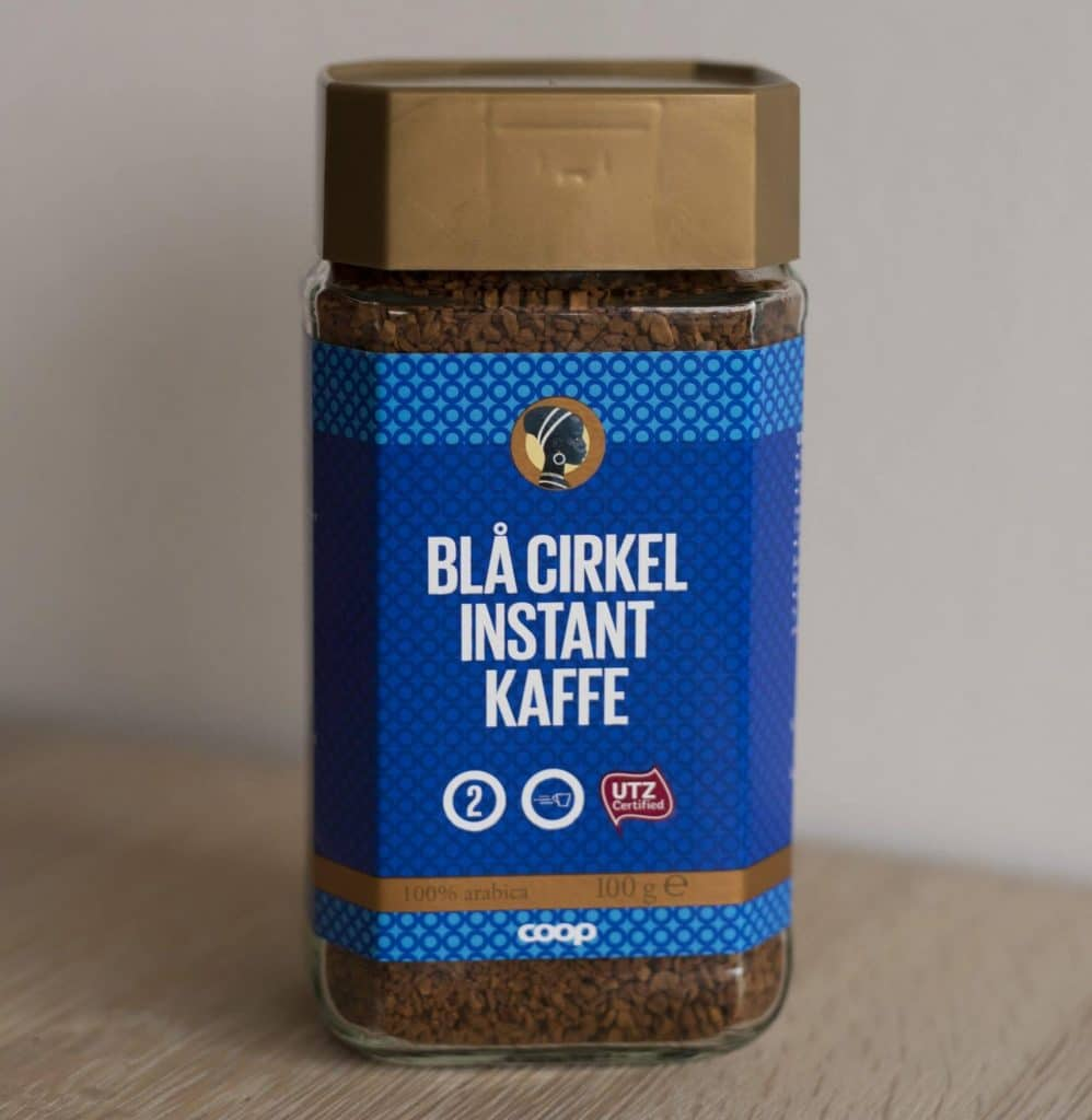 Blå Cirkel kaffe