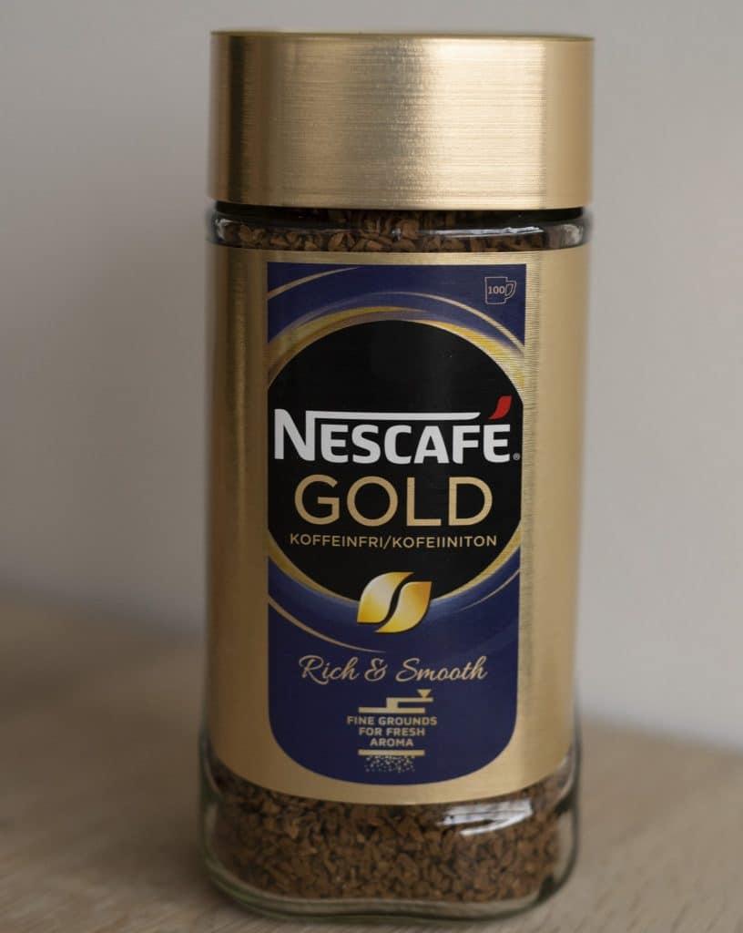 Nescafe gold Koffeinfri - instant