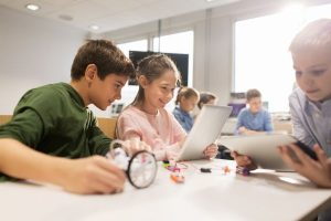 Ordblinde kan bidrage i skolen