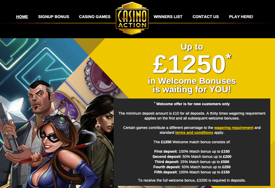 Casino Action in the UK