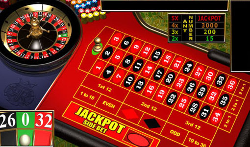 Bet at the gaming table and win the jackpot
