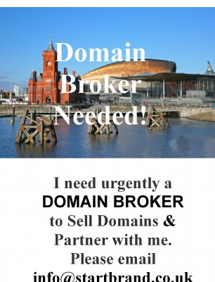 Affliate Marketer or Domain Brokers Needed