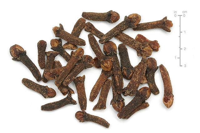 Tørrede kryddernelliker