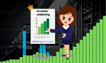 Investor utdelning & utdelningshistorik (2021)