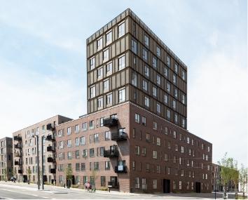 Halldorhus, Ørestaden
