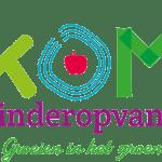 Logo Kom Kinderopvang transparante achtergrond