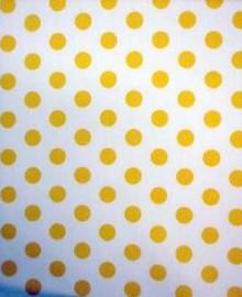 Stip midi wit-geel