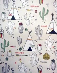 Tipi + cactus