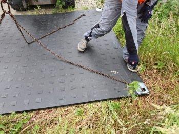 Bodenschutzplatte