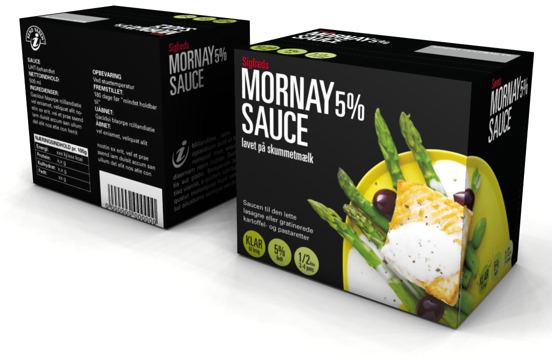 Sauce 3D MORNAY 5 A