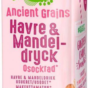GoGreen Ancient Grains Havre- och mandeldryck - Osockrad