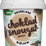 Coop Sojaglass Vegan Choklad & Nougat 2-pack