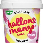Coop Sojaglass Vegan Hallon & Mango 2-pack