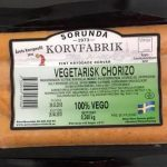 Sorunda Korvfabrik Vegetarisk Chorizo