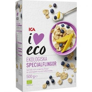 ICA I love eco Specialflingor