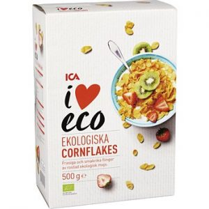 ICA I love eco Cornflakes